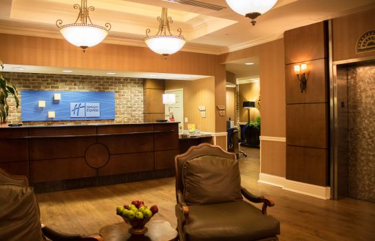 Hotelhalle Holiday Inn Express SAVANNAH-HISTORIC DISTRICT