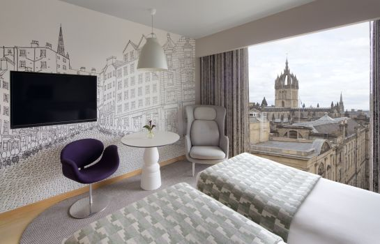 Double room (standard) Royal Mile Edinburgh Radisson Collection Hotel