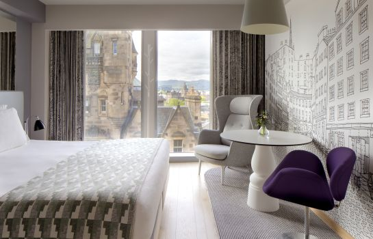 Double room (superior) Royal Mile Edinburgh Radisson Collection Hotel