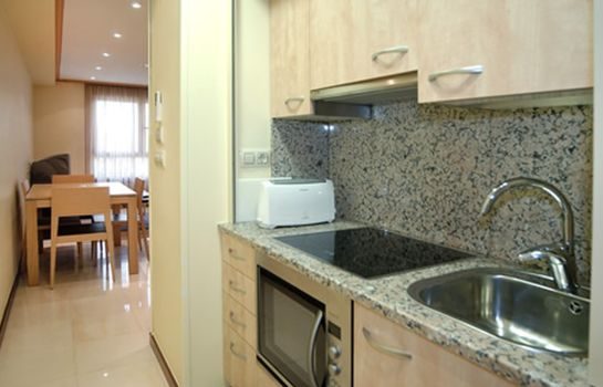 Kitchen in room Mediterraneo Real Apartments
