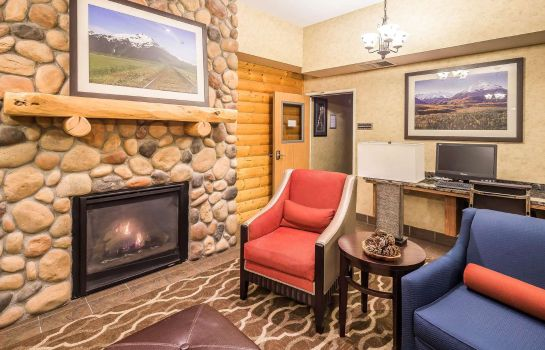 Hotelhalle Comfort Suites Anchorage International Airport