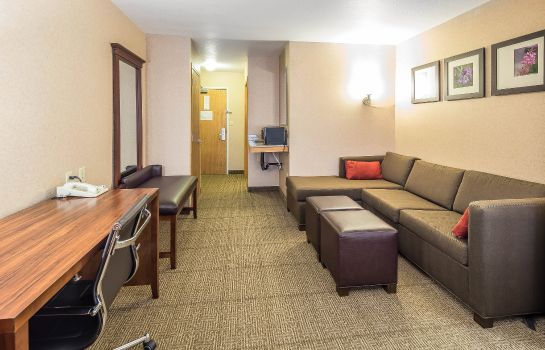 Zimmer Comfort Suites Anchorage International Airport