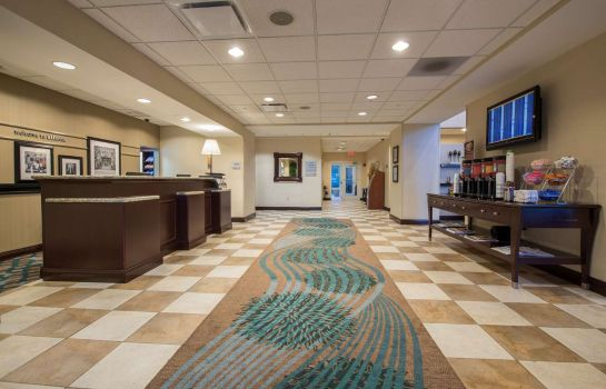 Lobby Hampton Inn - Suites Atlanta Arpt West-Camp Creek Pkwy GA