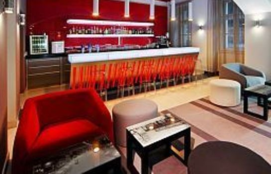 Bar de l'hôtel Red&Blue Design