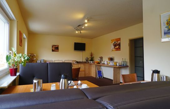 Breakfast room Rangau Hotel & Pension