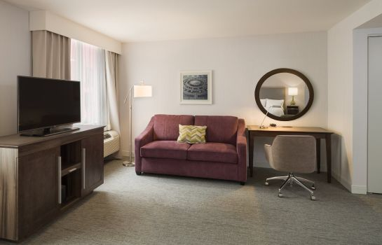Suite Hampton Inn Manhattan-Times Square South