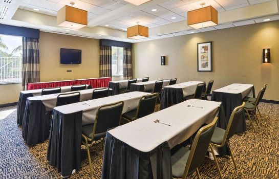 Sala konferencyjna Airport South & Cruise Port Cambria Hotel Ft Lauderdale