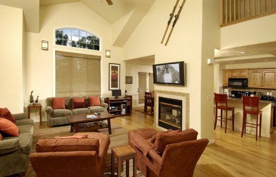 Vestíbulo del hotel GRAND TARGHEE RESORT VACATION RENTALS