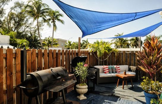 Tuin a South Beach Group Hotel Hollywood Beach Suites