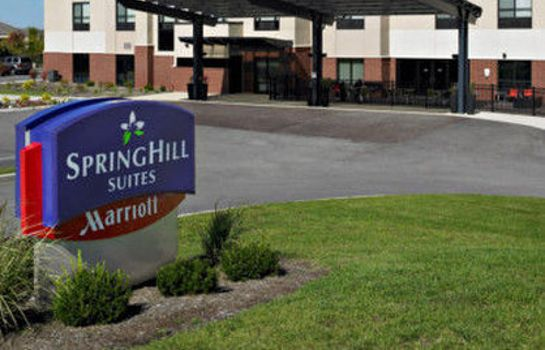 Widok zewnętrzny SpringHill Suites St. Louis Airport/Earth City