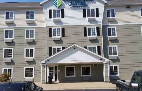 Exterior view WOODSPRING SUITES COUNCIL BLUF