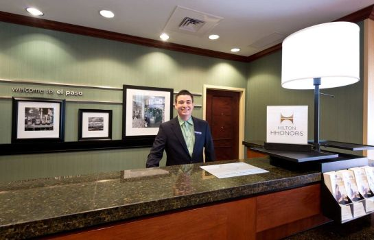 Hotelhalle Hampton Inn - Suites El Paso West