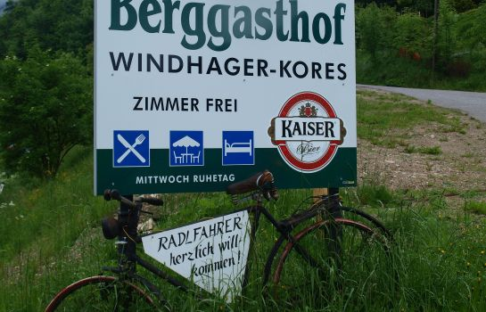 Exterior view Windhager Kores Gasthof
