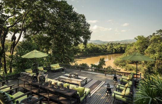 Hol hotelowy Four Seasons Tented Camp