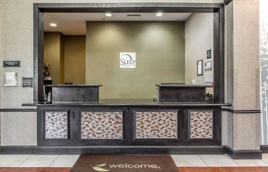 Hotelhalle Sleep Inn & Suites West Medical Center