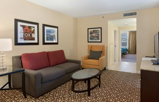 Suite DoubleTree Suites by Hilton Detroit Downtown - Fort Shelby