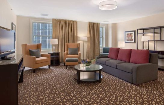 Habitación DoubleTree Suites by Hilton Detroit Downtown - Fort Shelby