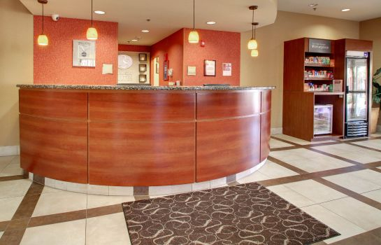 Hol hotelowy Comfort Suites Airport