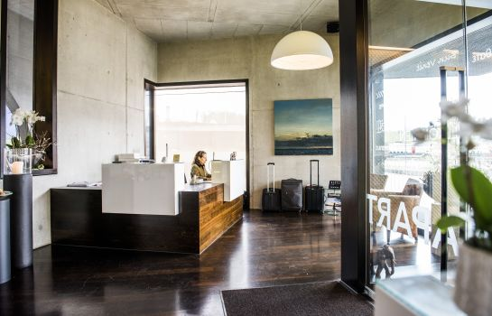 Reception HOTEL APART – Welcoming I Urban Feel I Design