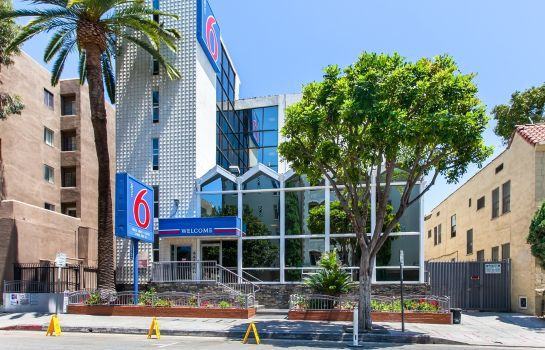 Vue extérieure MOTEL 6 LOS ANGELES - HOLLYWOOD