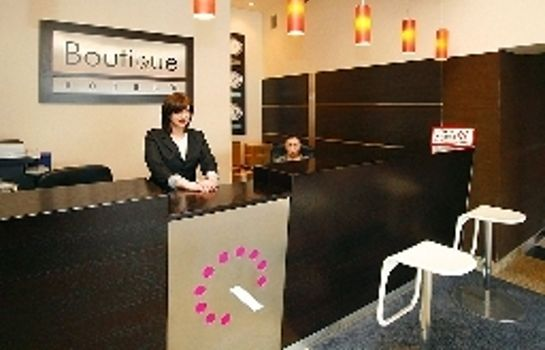 Recepcja Boutique Hotel's I Business