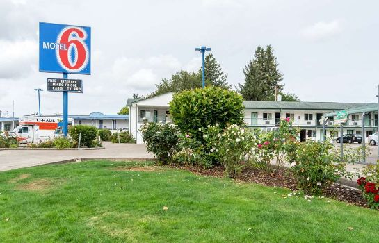 Vista esterna MOTEL 6 ALBANY OR