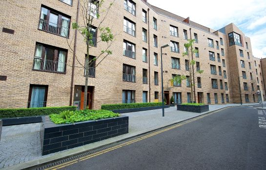 Exterior view Staycity Serviced Apartments Edinburgh – West End