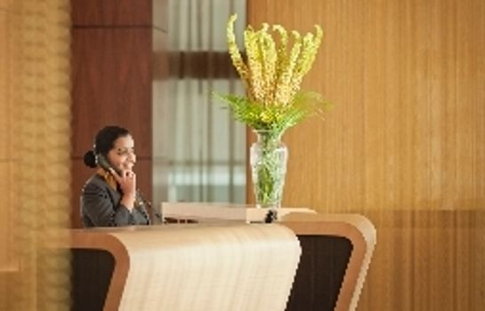 Réception InterContinental Hotels DOHA - THE CITY