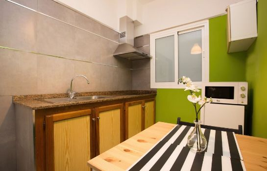 Kitchen in room Apartamentos Islamar