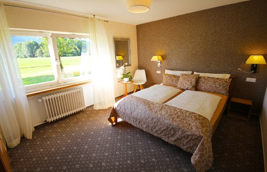 Doppelzimmer Standard Wellness am Rain Pension Garni