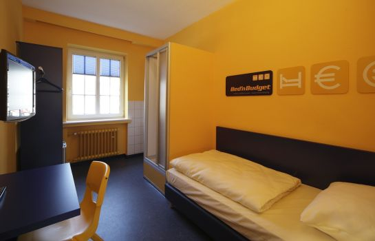 Single room (standard) Bed'nBudget Expo-Hostel