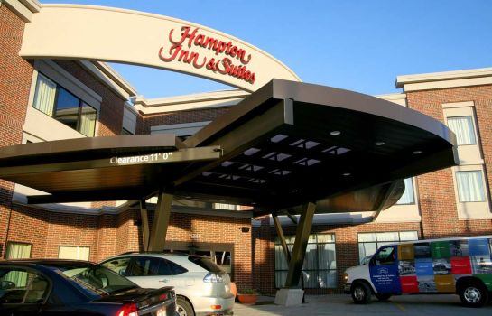 Außenansicht Hampton Inn - Suites Salt Lake City-Univ-Foothill Dr UT