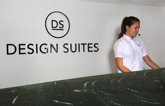 Recepción Design Suites Miami Beach