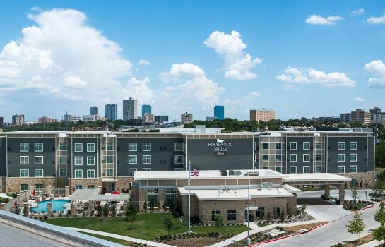 Buitenaanzicht Homewood Suites by Hilton Fort Worth - Medical Center TX