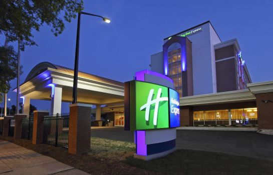 Außenansicht Holiday Inn Express AUGUSTA DOWNTOWN