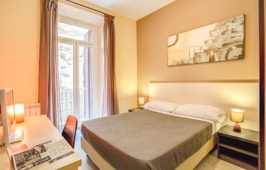 Doppelzimmer Standard Mosaic Central Rome Hotel