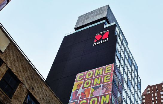 Vista esterna citizenM Times Square New York