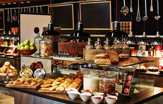Buffet prima colazione citizenM Times Square New York