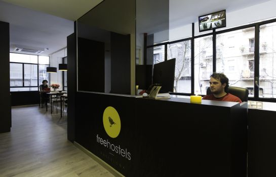 Empfang Free Hostels barcelona