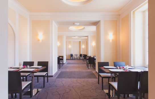 Breakfast room Star Inn Hotel Premium Dresden im Haus Altmarkt, by Quality