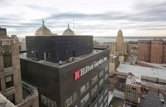 Außenansicht The Hilton Garden Inn Buffalo Downtown