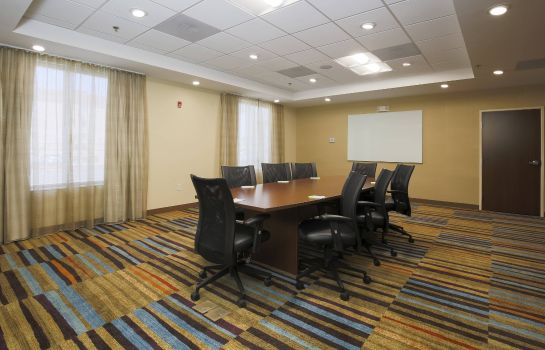 Conference room Fairfield Inn & Suites El Paso Airport