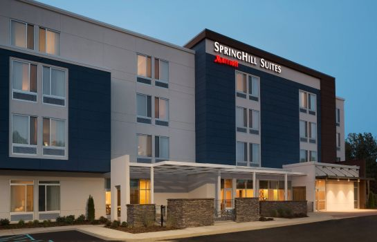 Buitenaanzicht SpringHill Suites Tuscaloosa