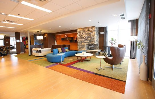 Hotelhalle Fairfield Inn & Suites East Grand Forks
