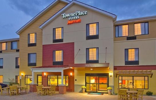 Exterior view TownePlace Suites Billings