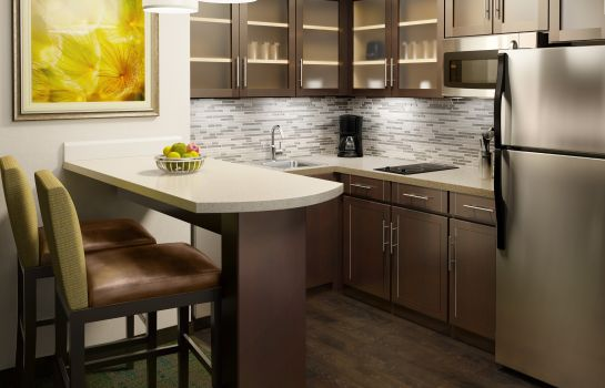 Keuken in de kamer Staybridge Suites ATLANTA - MIDTOWN