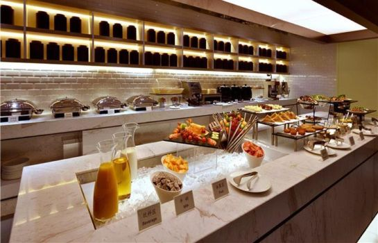 Breakfast room Atour Hotel Xujiahui