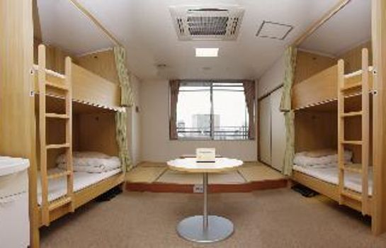 Chambre double (standard) Shin-Osaka Youth hostel