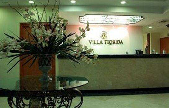 Reception Hotel Villa Florida