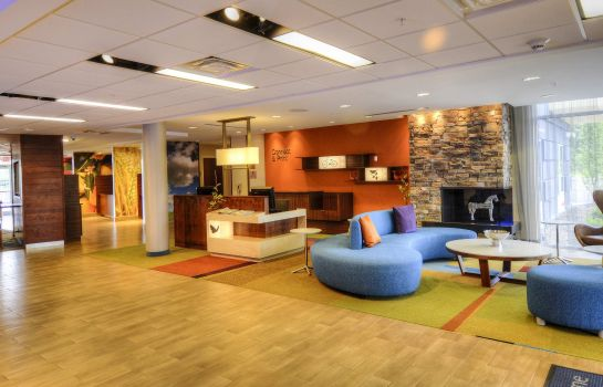 Hotelhalle Fairfield Inn & Suites Princeton